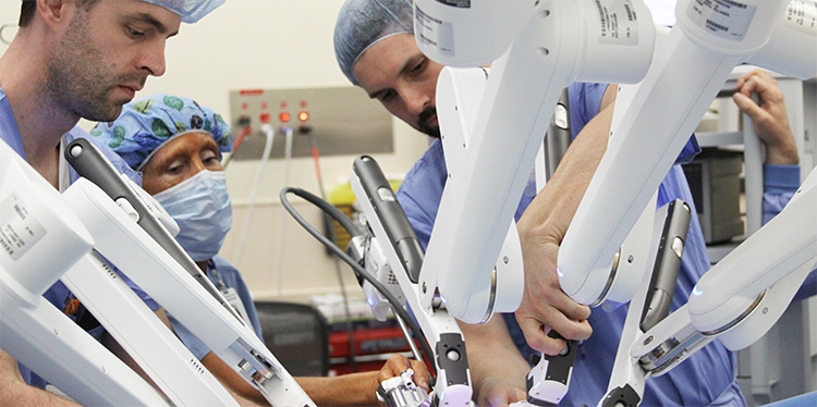 Expanding surgical expertise with the da Vinci Xi HD robotic system