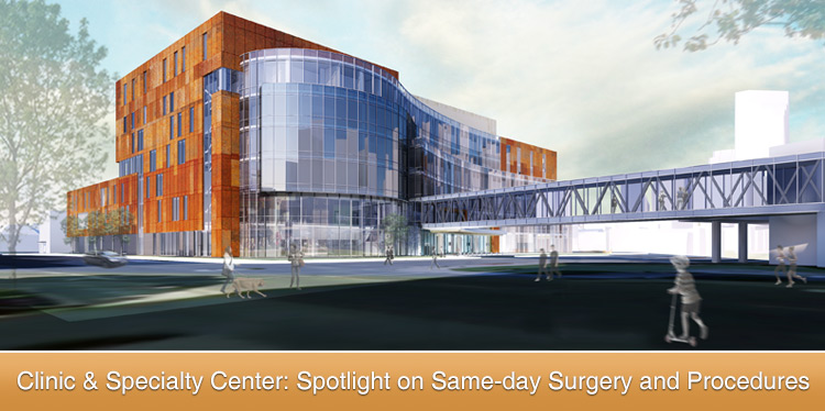 Same-day Surgery and Procedures designs space for optimal patient experience