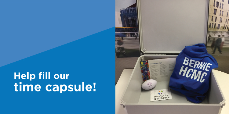 You're invited to submit ideas for our time capsule