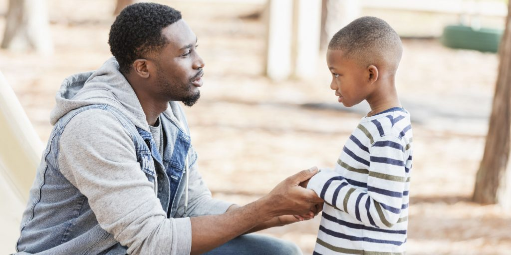 Tips for talking to children about difficult news stories