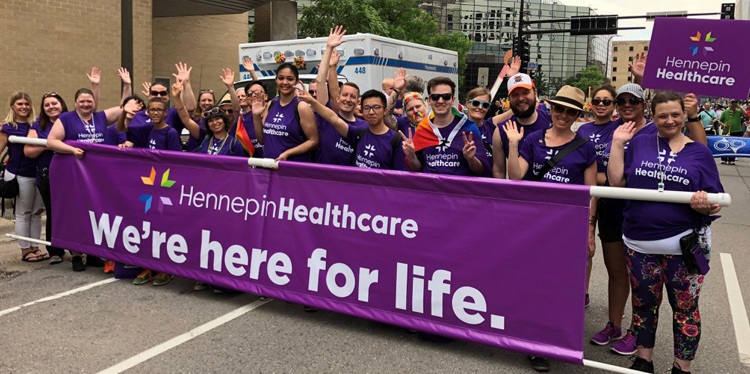 Celebrate Pride Month with Hennepin Healthcare