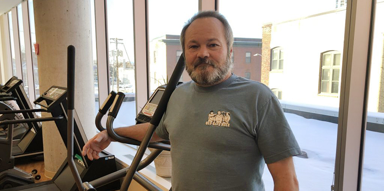 """TBI and heart attack survivor: """"I'm blessed"""""""