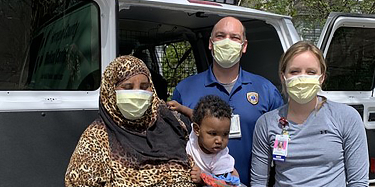 Pediatric Vaccine Mobile serves children in the community during the pandemic