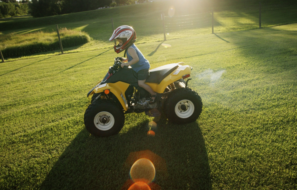 Children injured in ATV accidents on the rise
