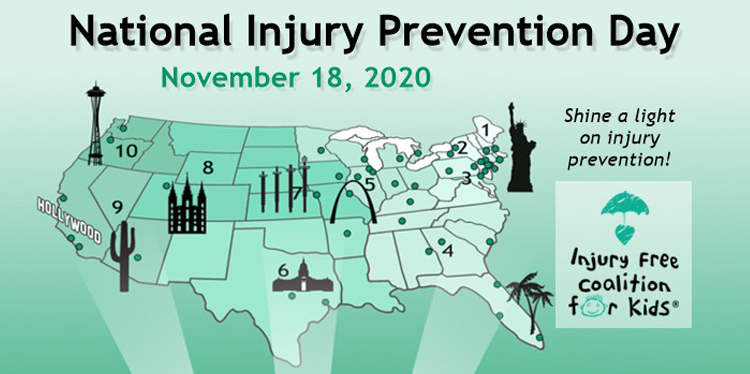 Injury Free Prevention Day is November 18