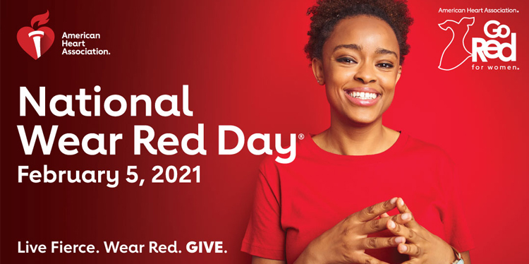 Go red for women or just wear red day, which is it? Either way, February 5th wear red! Here's why: